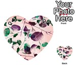 Spiral Eucalyptus Leaves Playing Cards 54 (Heart)  Front - ClubQ