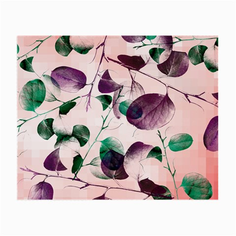Spiral Eucalyptus Leaves Small Glasses Cloth (2-Side)