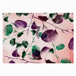Spiral Eucalyptus Leaves Large Glasses Cloth Front