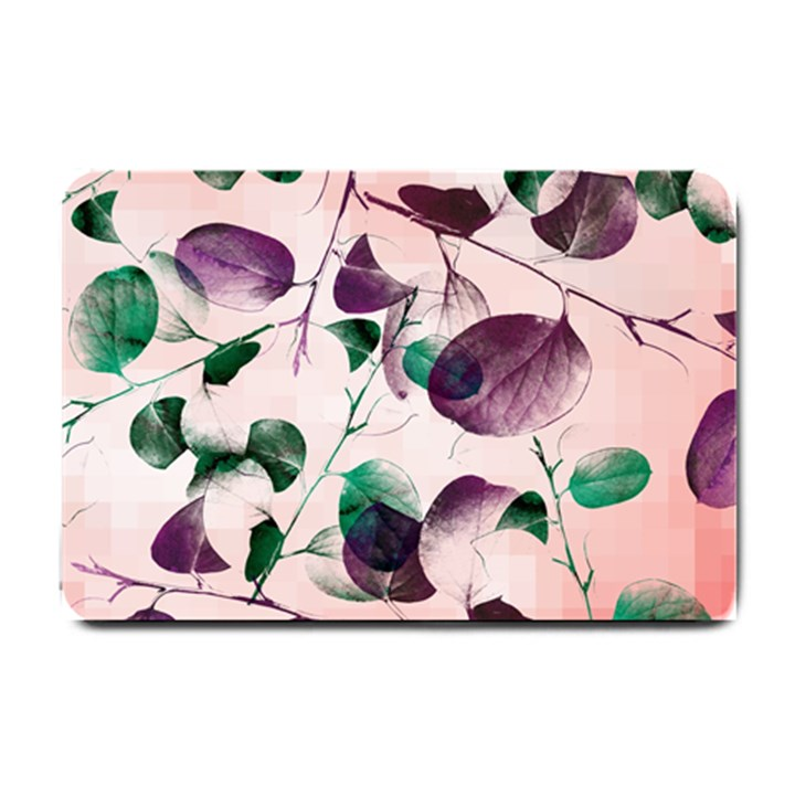 Spiral Eucalyptus Leaves Small Doormat