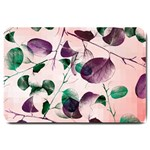 Spiral Eucalyptus Leaves Large Doormat  30 x20 Door Mat - 1