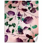 Spiral Eucalyptus Leaves Canvas 11  x 14   14 x11 Canvas - 1