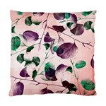 Spiral Eucalyptus Leaves Standard Cushion Case (Two Sides) Back