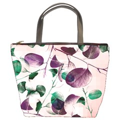 Spiral Eucalyptus Leaves Bucket Bags
