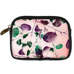 Spiral Eucalyptus Leaves Digital Camera Cases