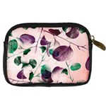 Spiral Eucalyptus Leaves Digital Camera Cases Back