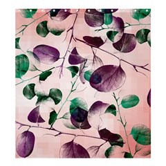 Spiral Eucalyptus Leaves Shower Curtain 66  x 72  (Large)