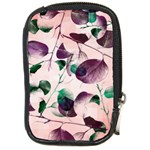 Spiral Eucalyptus Leaves Compact Camera Cases Front