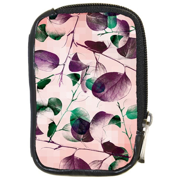 Spiral Eucalyptus Leaves Compact Camera Cases