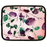 Spiral Eucalyptus Leaves Netbook Case (XL)  Front