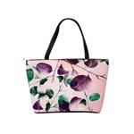 Spiral Eucalyptus Leaves Shoulder Handbags Back