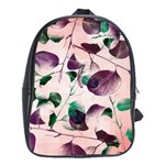 Spiral Eucalyptus Leaves School Bags(Large)  Front
