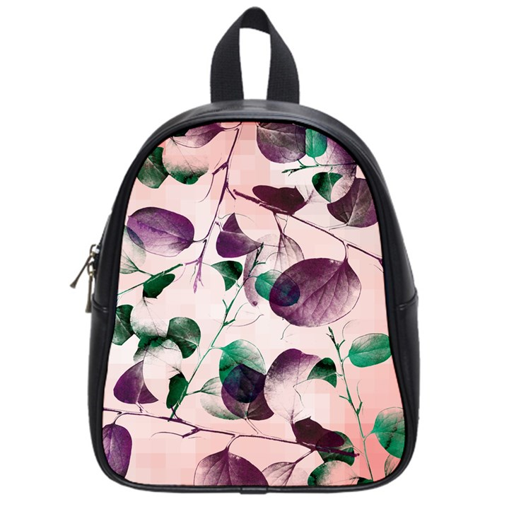 Spiral Eucalyptus Leaves School Bags (Small)