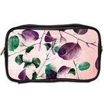 Spiral Eucalyptus Leaves Toiletries Bags 2-Side Back