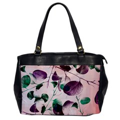Spiral Eucalyptus Leaves Office Handbags