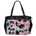 Spiral Eucalyptus Leaves Office Handbags Front