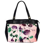 Spiral Eucalyptus Leaves Office Handbags (2 Sides)  Front