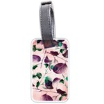 Spiral Eucalyptus Leaves Luggage Tags (Two Sides) Back