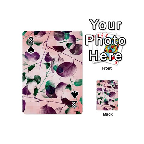 Spiral Eucalyptus Leaves Playing Cards 54 (Mini)