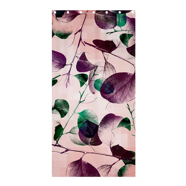 Spiral Eucalyptus Leaves Shower Curtain 36  x 72  (Stall)