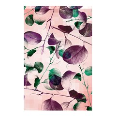 Spiral Eucalyptus Leaves Shower Curtain 48  x 72  (Small)