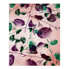 Spiral Eucalyptus Leaves Shower Curtain 60  x 72  (Medium)
