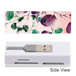 Spiral Eucalyptus Leaves Memory Card Reader (Stick)  Front