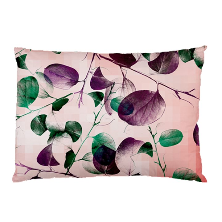 Spiral Eucalyptus Leaves Pillow Case (Two Sides)