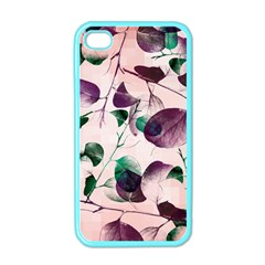 Spiral Eucalyptus Leaves Apple iPhone 4 Case (Color)