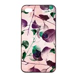 Spiral Eucalyptus Leaves Apple iPhone 4/4s Seamless Case (Black) Front