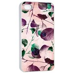 Spiral Eucalyptus Leaves Apple iPhone 4/4s Seamless Case (White) Front