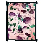 Spiral Eucalyptus Leaves Apple iPad 2 Case (Black) Front