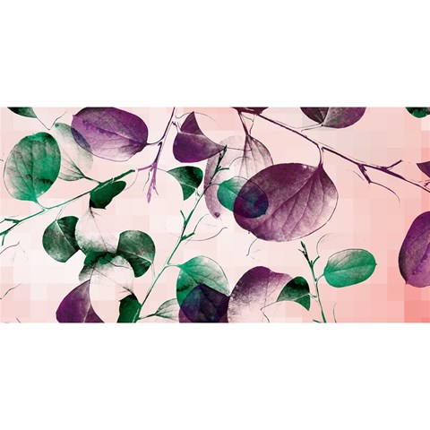 Spiral Eucalyptus Leaves YOU ARE INVITED 3D Greeting Card (8x4)