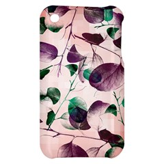 Spiral Eucalyptus Leaves Apple iPhone 3G/3GS Hardshell Case