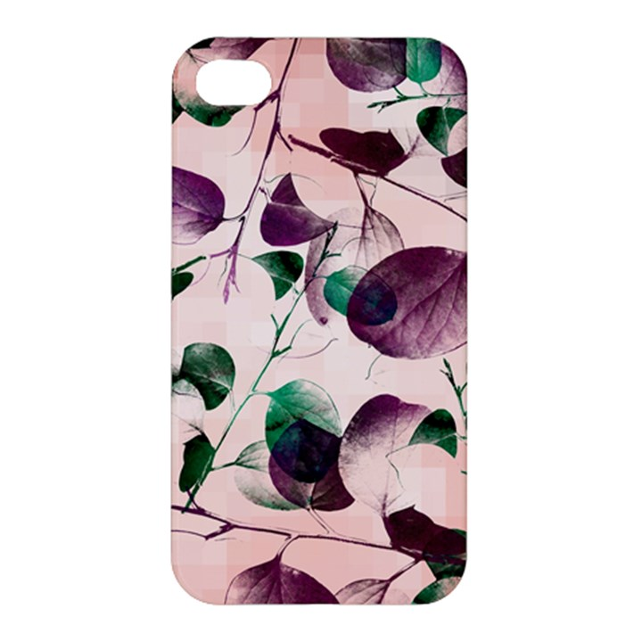 Spiral Eucalyptus Leaves Apple iPhone 4/4S Hardshell Case
