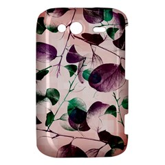 Spiral Eucalyptus Leaves HTC Wildfire S A510e Hardshell Case