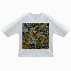 Antique Anciently Gold Blue Vintage Design Infant/toddler T Shirts