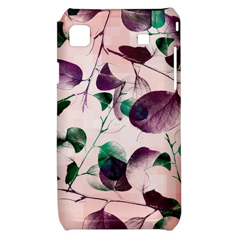 Spiral Eucalyptus Leaves Samsung Galaxy S i9000 Hardshell Case