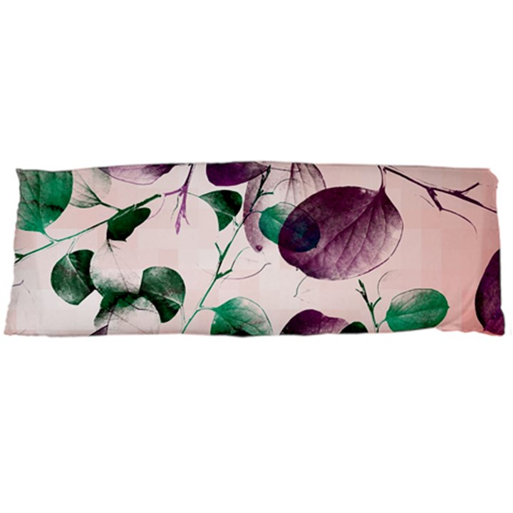 Spiral Eucalyptus Leaves Body Pillow Case Dakimakura (Two Sides)