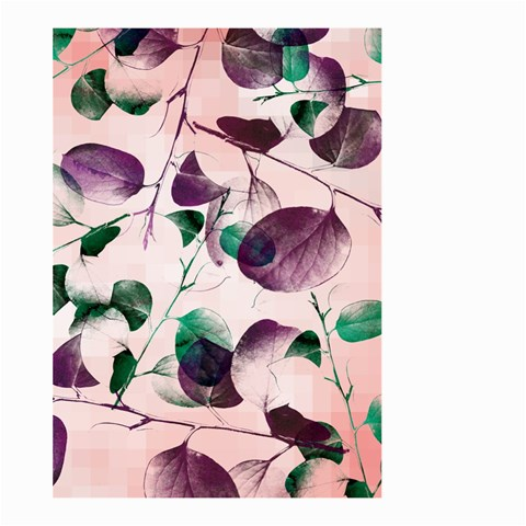Spiral Eucalyptus Leaves Large Garden Flag (Two Sides)