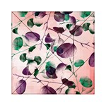 Spiral Eucalyptus Leaves Acrylic Tangram Puzzle (6  x 6 ) Front