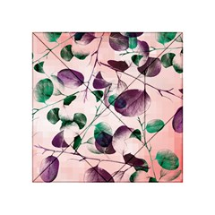 Spiral Eucalyptus Leaves Acrylic Tangram Puzzle (4  x 4 )