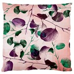 Spiral Eucalyptus Leaves Large Cushion Case (One Side) Front