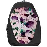Spiral Eucalyptus Leaves Backpack Bag Front