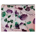Spiral Eucalyptus Leaves Cosmetic Bag (XXXL)  Front
