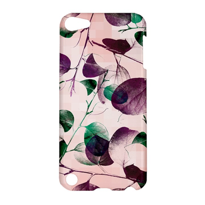 Spiral Eucalyptus Leaves Apple iPod Touch 5 Hardshell Case