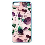 Spiral Eucalyptus Leaves Apple Seamless iPhone 5 Case (Color) Front