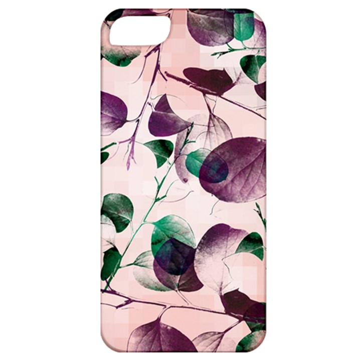 Spiral Eucalyptus Leaves Apple iPhone 5 Classic Hardshell Case
