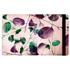 Spiral Eucalyptus Leaves Apple iPad 3/4 Flip Case
