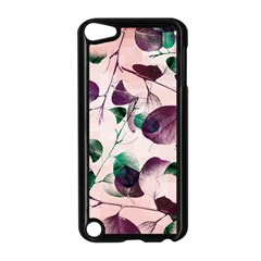 Spiral Eucalyptus Leaves Apple Ipod Touch 5 Case (black)